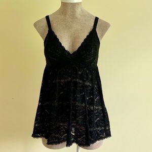 Torrid Black Lace Nightgown